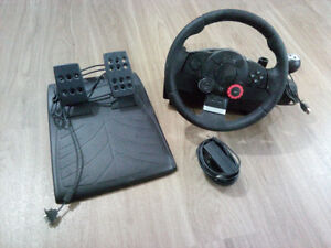 Logitech Driving Force GT Racing Wheel for PC & PS3