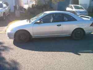 Honda civic with summer and winter tires