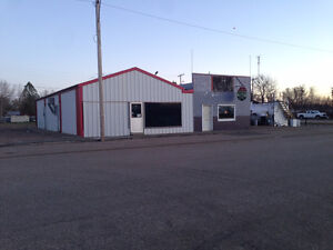 Independant Gas Station in Burstall