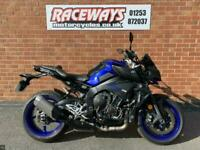 YAMAHA MT-10 2018 18Reg, Blue, 6,386 Miles, Used Motorcycle