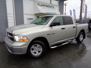 2010 Dodge Ram 1500 SLT 4x4, Crew Cab, Tonneau Cover, No Acciden
