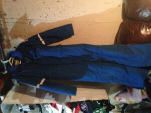 Nomex flame resistant coveralls
