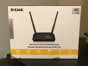 D-Link AC750 Dual Band wireless router
