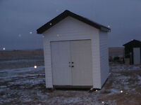 8'x10' Insulated Shed