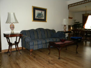 Couch and wing back chairs