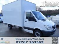 2009 09 MERCEDES SPRINTER 311CDI LUTON WALKIN MOBILE SHOP ONLY 36K