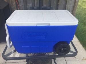 Coleman wheeled cooler