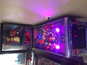 Nightmare On Elm Street Pinball Machine .