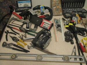 Assortment of tools. Wolfville area. Cash only