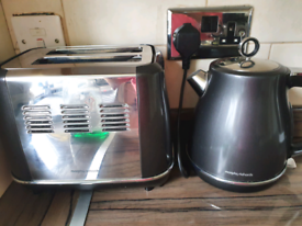 Morphy richards electric kettle and toaster
