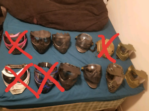 ***PAINTBALL MASKS for CHEAP***