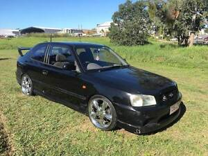 2002 Hyundai Accent (6 MONTH REGO-12 MONTH FREE WARRANTY-RWC) Yeerongpilly Brisbane South West Preview