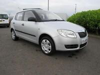Skoda Fabia 1.2 HTP 12v ( 70bhp ) 2 ONE ELDERLY LADY OWNER FROM NEW ONLY 32k