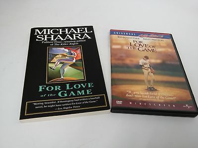 For Love of the Game~Michael Shaara~book & DVD Kevin (Michael Shaara For Love Of The Game)