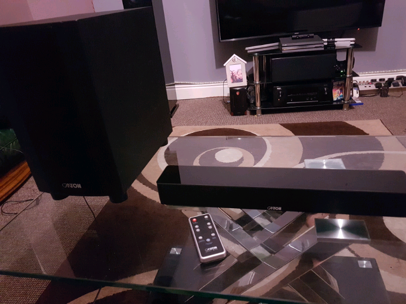 Canton dm5 and active subwoofer bluetooth speaker soundbar | in Cookstown,  County Tyrone | Gumtree