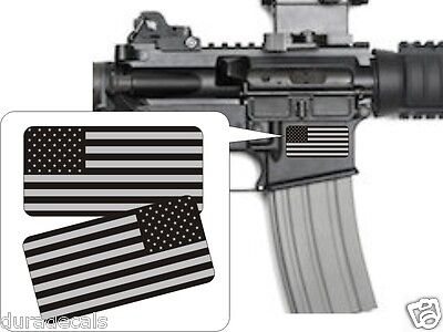 American Flag Black Ops Stickers Decals / AR-15 5.56 .223 MAG Stickers AR15 USA