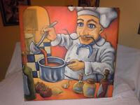 Cadres '' RAFUSE '' Cuisiniers