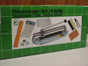 9 Piece Tiling Machine, BRAND NEW