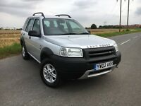 Freelander TD4 GS - Long MOT - 2002 '02' - Great Condition - Part Service History