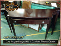 Antique Occasional | Hall | Kitchen | Parlour & Side Tables +++ City of Toronto Toronto (GTA) Preview
