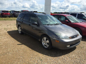2004 Ford Focus ZTW Wagon, Sask Tax Paid, Leather, Sunroof