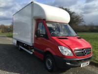 Mercedes Sprinter 313 3.5T 16ft Dropwell Removal Luton