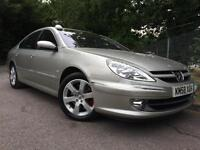 2008/58 Peugeot 607 2.0HDi 136 Executive, Only 62k miles, Service History