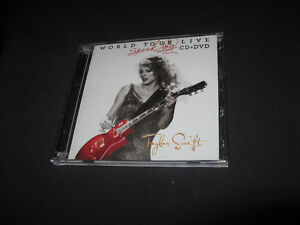 TAYLOR SWIFT - Speak Now / World Tour Live (CD/DVD Set)new price