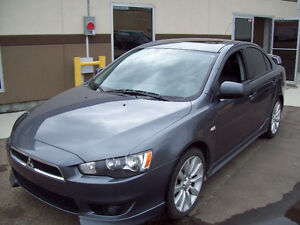 "2009 MITSUBISHI LANCER ""GTS"" Automatic with LEATHER! Only $6950!"