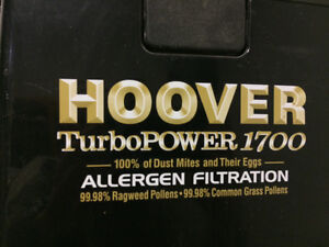 Hoover Turbopower 1700 with Allergen Filtration System Prince George British Columbia image 8