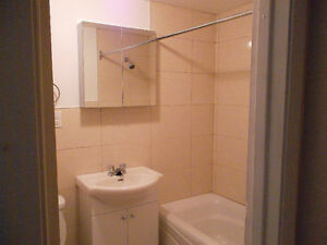 Renovated bathroom 2 1/2 CDN @ Linton  available JULY