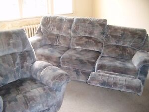 reclining couch and reclining chair...FREE!!!!!