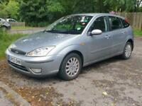 Ford Focus 2.0i auto 2003 Ghia,FSH,1keeper,Fresh MoT,£1450 call 07969282764