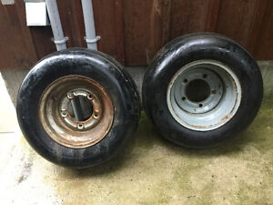 Rims & tires fit early VW