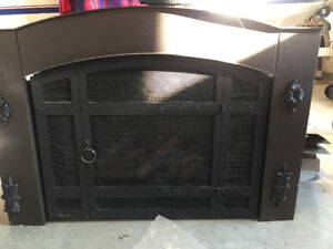 GAS FIREPLACE INSERT IN EXCELLENT CONDITION