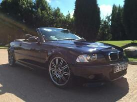 2004 54 REG BMW M3 3.2 SEQUENTIAL CONVERTIBLE