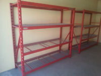 Snap-on shelving
