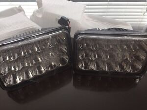 Pair of (NEW) 4x6 LED HEADLIGHTS