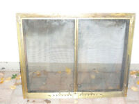 Wood Fireplace Glass Door Insert