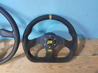 OMP steering wheel dc2 integra boss eg del sol mb (jap-ftw)