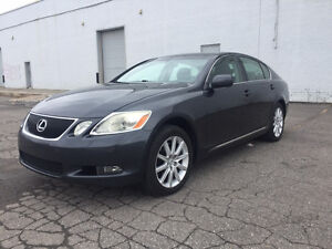 2007 LEXUS GS 350 AWD  ULTRA PREMIUM IMPECCABLE