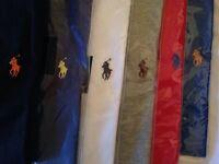 Ralph Lauren men's t shirt crew neck short sleeves 7x colours £15 each cotton