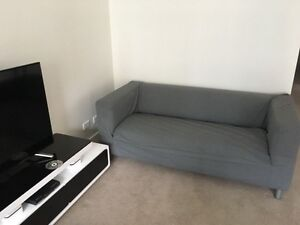Sofa grey 1,8 m Chatswood Willoughby Area Preview