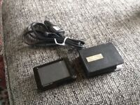 GARMIN sat nav & case & in car charger