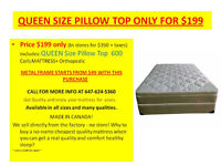 MATTRESS SALE BRAND NEW EURO TOP THIS WEEK SPECIAL ★★★