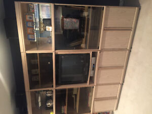 """Wall unit 3 pieces """" just reduced to $450"""""""