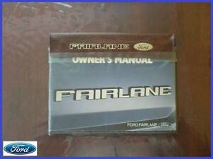 FORD ZL FAIRLANE OWNERS MANUAL BOOK Warragul Baw Baw Area Preview