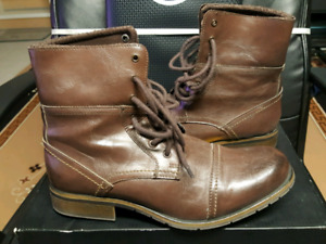 Aldo Brown Leather Boots ( Mens 43 / size 10 US)