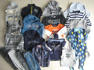 Lot de vêtements GARCON_18-24 mois