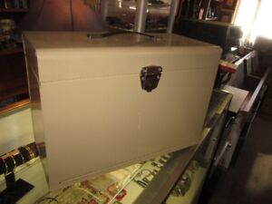 Portable Metal Filing Cabinet For Sale